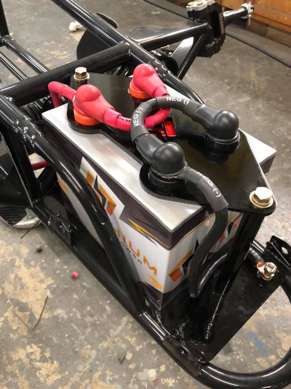 DNRC Go Lithium Battery Mount For Gen2, 16V Batteries