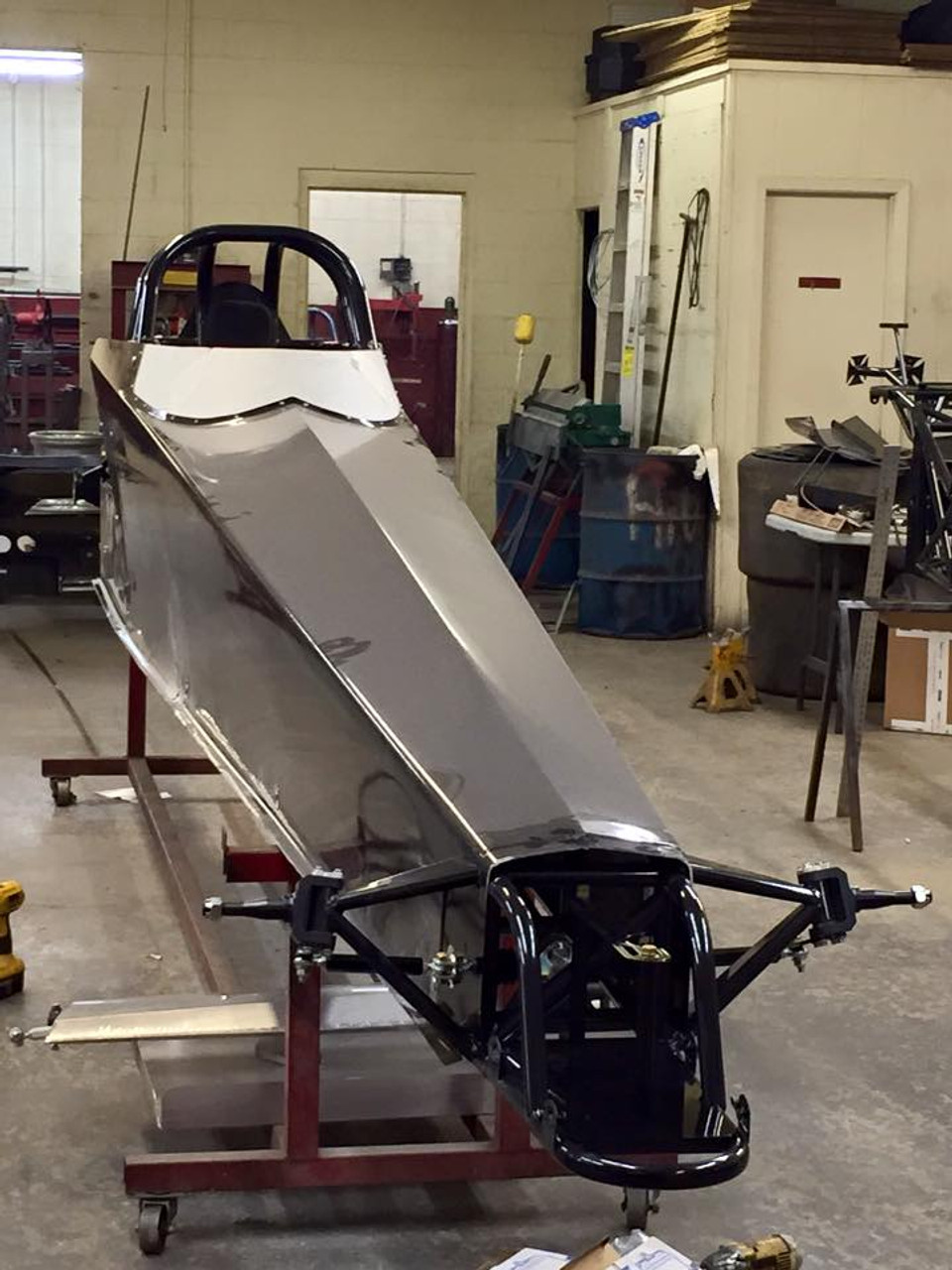 Danny Nelson Racecraft Chassis Dragster front end