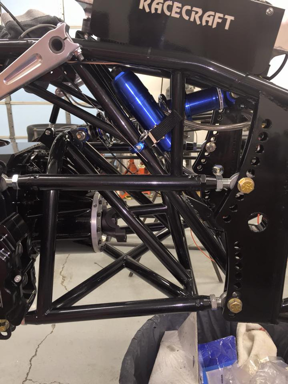 Danny Nelson Racecraft Chassis Dragster swing arm