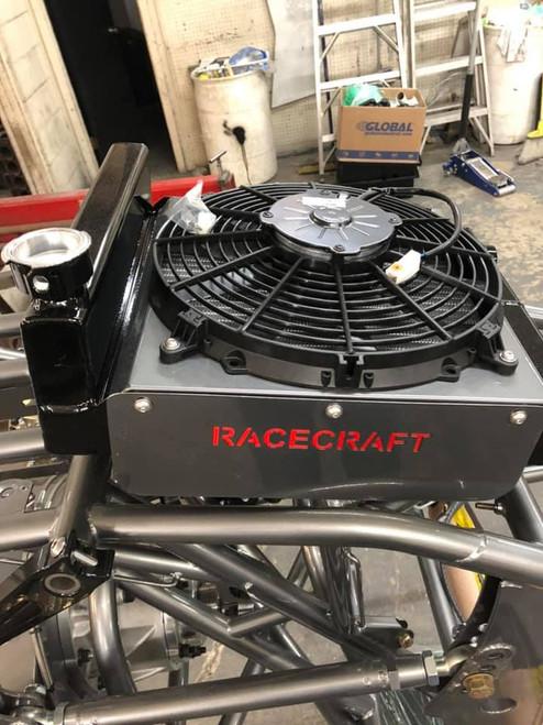 Racecraft Rear Mount Radiator with Fan /Shroud / Expansion Tank