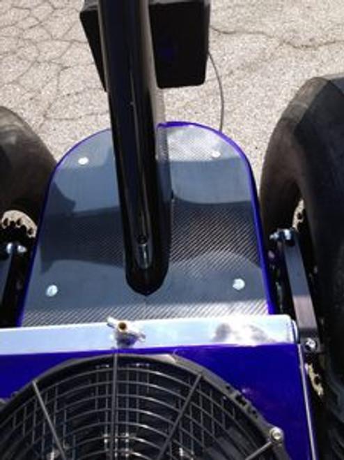 Carbon Fiber Suspension Cover Panel - Upgrade
