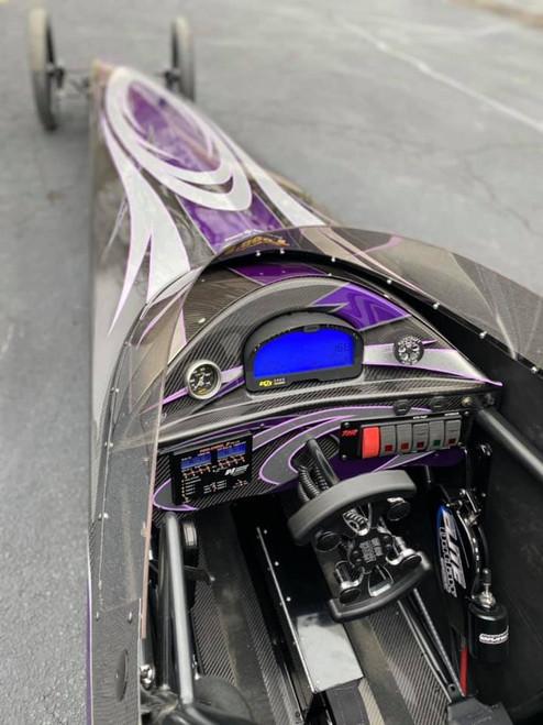 Carbon Fiber IQ3 Racepak Recessed Dash