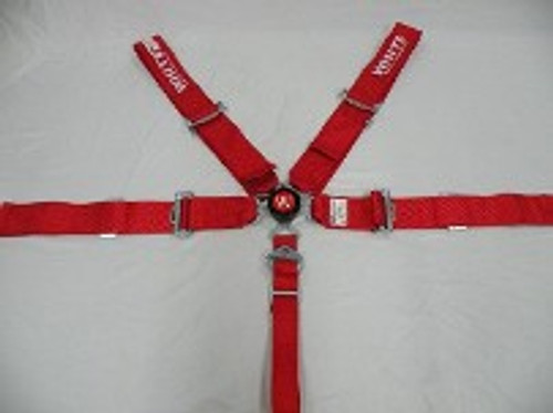 wse200 White Safety Cam Lock Seat Belts