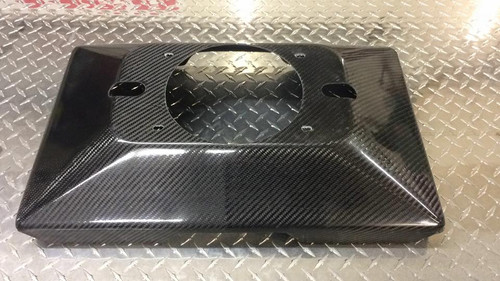 "3"" Rise Carbon Fiber Scoop Tray"