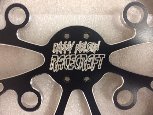 Racecraft V-Series Dragster Steering Wheel CNC Billet Aluminium