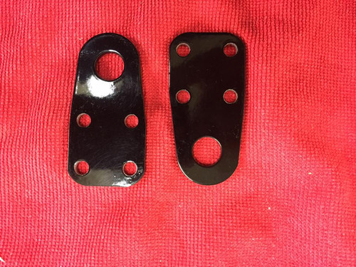 Dragster Spindle Tow Caps, Black (pair)