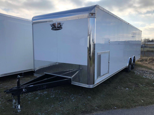2019 - 28' Vintage Outlaw Race Car Trailer