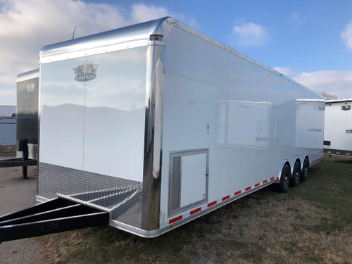 2019 34' Vintage Pro Stock Race Car Tag Enclosed Trailer WITH BATH