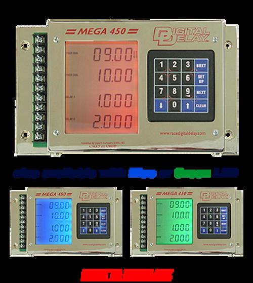 1045-pl-cr Digital Delay Mega 450 V3 Delay Box - CHROME
