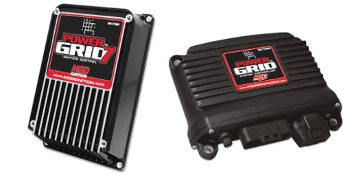 MSD Power Grid Ignition Box 7720  AND Black System Controller 77303