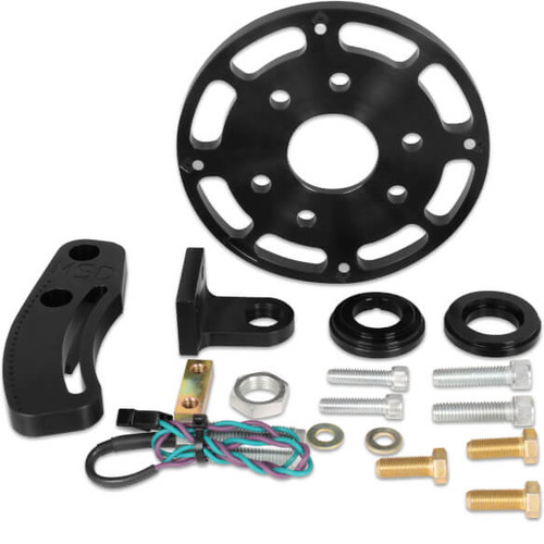 "MSD 86003 Black Crank Trigger Kit, Small Block Chevy with 6.25"" Balancer"