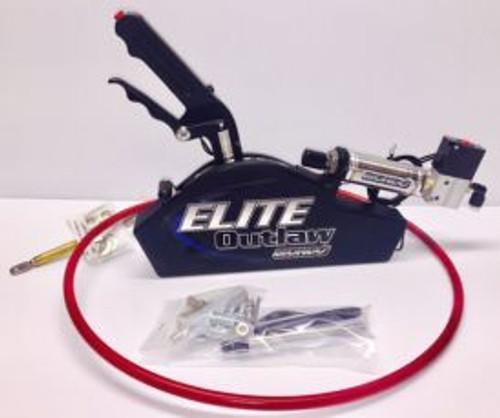 ELite Outlaw - Flat Black - CO2 Shifter, 9'Cable
