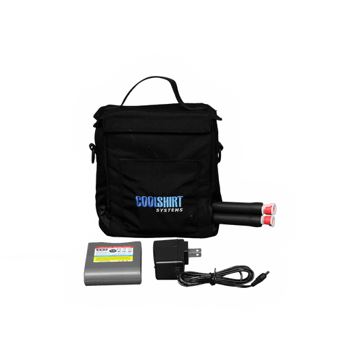CoolShirts Small Bag System Cooler, Pump and Lithium Battery