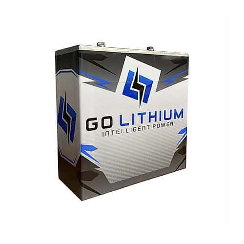 Go Lithium 12v Battery and Charger Package *Includes 2 Batteries and 1 Charger* (FREE SHIPPING)