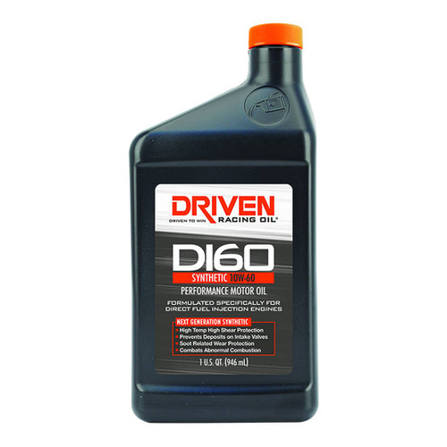 Driven DI60 10W-60 Synthetic Direct Injection Performance Motor Oil - 1 Quart