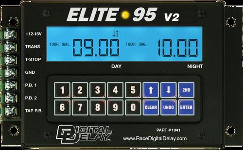 Digital Delay  ELITE 95 V2 Delay Box, W/ Red, Blue OR Green LCD BackLite Screen