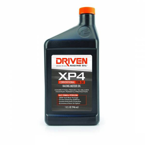 Driven 00506 - XP4 15W-50 Conventional Racing Oil