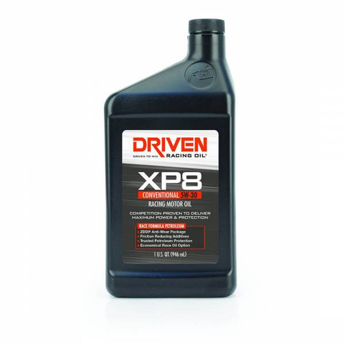 Driven 01906  - XP8 5W-30 Conventional Racing Oil