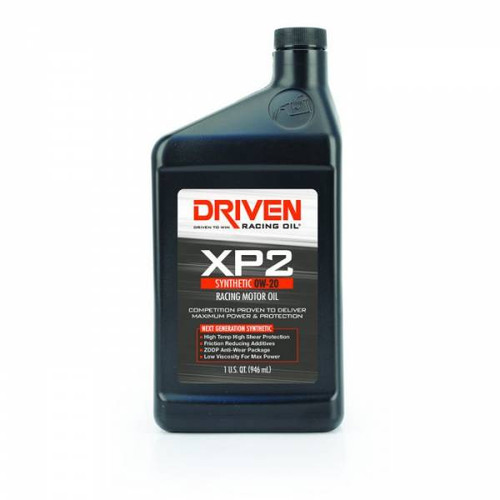 Driven  00206 XP2 0W-20 Synthetic Racing Oil - 1 Quart