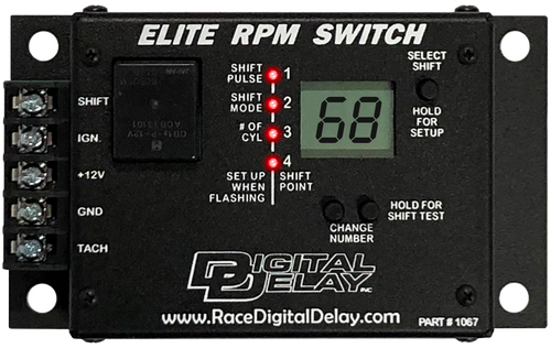 Digital Delay ELITE RPM SWITCH The most feature-loaded RPM Switch available.
