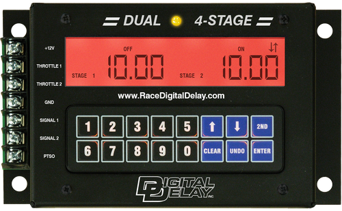 Digital Delay DUAL 4-STAGE TIMER The best stand-alone timer available.