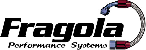 Fragola  Performance Systems Black Aluminum AN Flare Cap