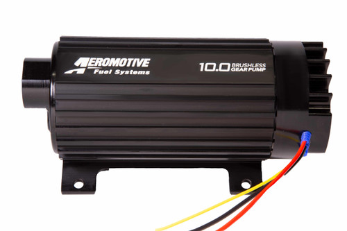 Aeromotive 10.0 GPM Brushless Spur Gear Fuel Pump with True Variable Speed Control, In-Line