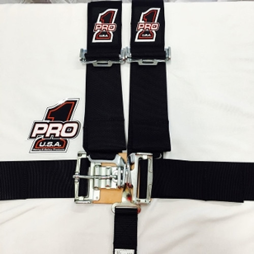 PRO 1 Safety Harness Seat Belts, Latch or Cam Lock, Multiple Options
