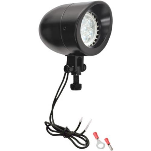 Black LED Headlights Pair 2-3/8, Adjustable Bezel (PAIR)