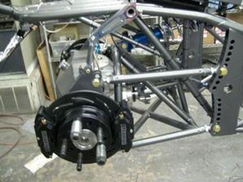 B1700WCD-2 Strange Rear Billet Brake Kit with 2 Piece FLOATING Rotors (DUAL CALIPERS)