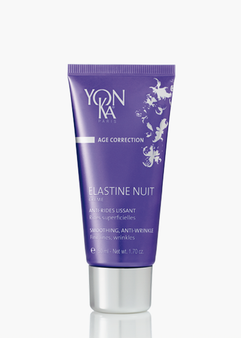 ELASTINE NUIT, SMOOTHING ANTI-WRINKLE Fines lines and wrinkles fade away over time