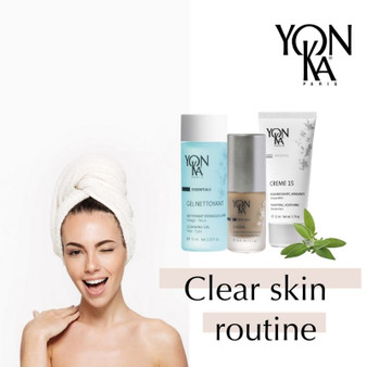 Yonka Clear Skin Routine