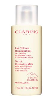 NEW Clarins Velvet Cleansing Milk 400ml