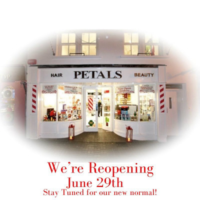Petals Salons Reopen June 29th