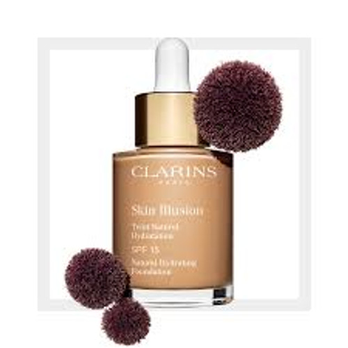 Clarins Skin Illusions Foundation 105 Nude