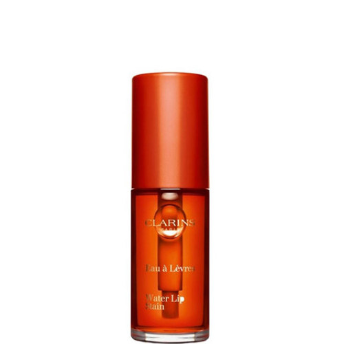 Clarins Water Lip Stain offers an ultra-light, water like texture that glides over the lips to give long wearing, non-transferable highly pigmented colour while providing intense hydration and nourishment. The unique Anti-Pollution Complex also protects lips from environmental aggressors throughout the day. Colour 03 orange water.