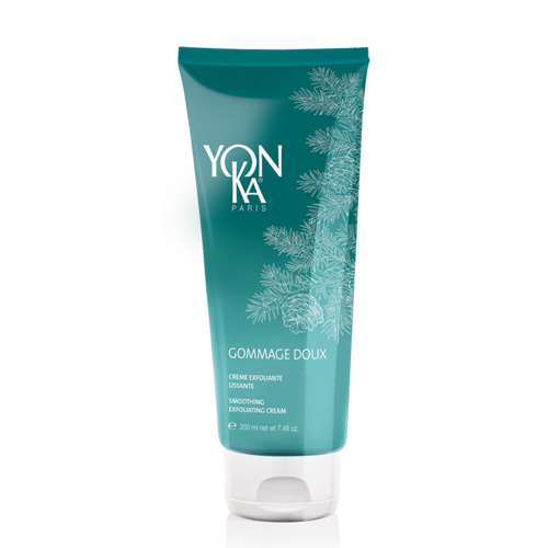 Gentle, dual action body scrub: exfoliates and leaves a light veil of hydration on the skin.