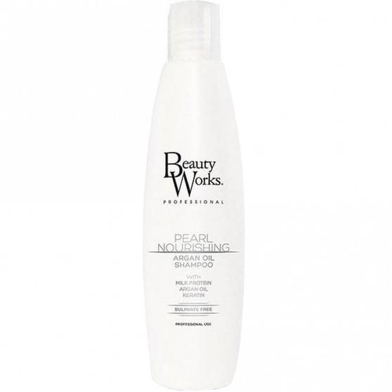 Beauty Works Pearl Nourishing Argan Oil Shampoo (Sulphate free)
