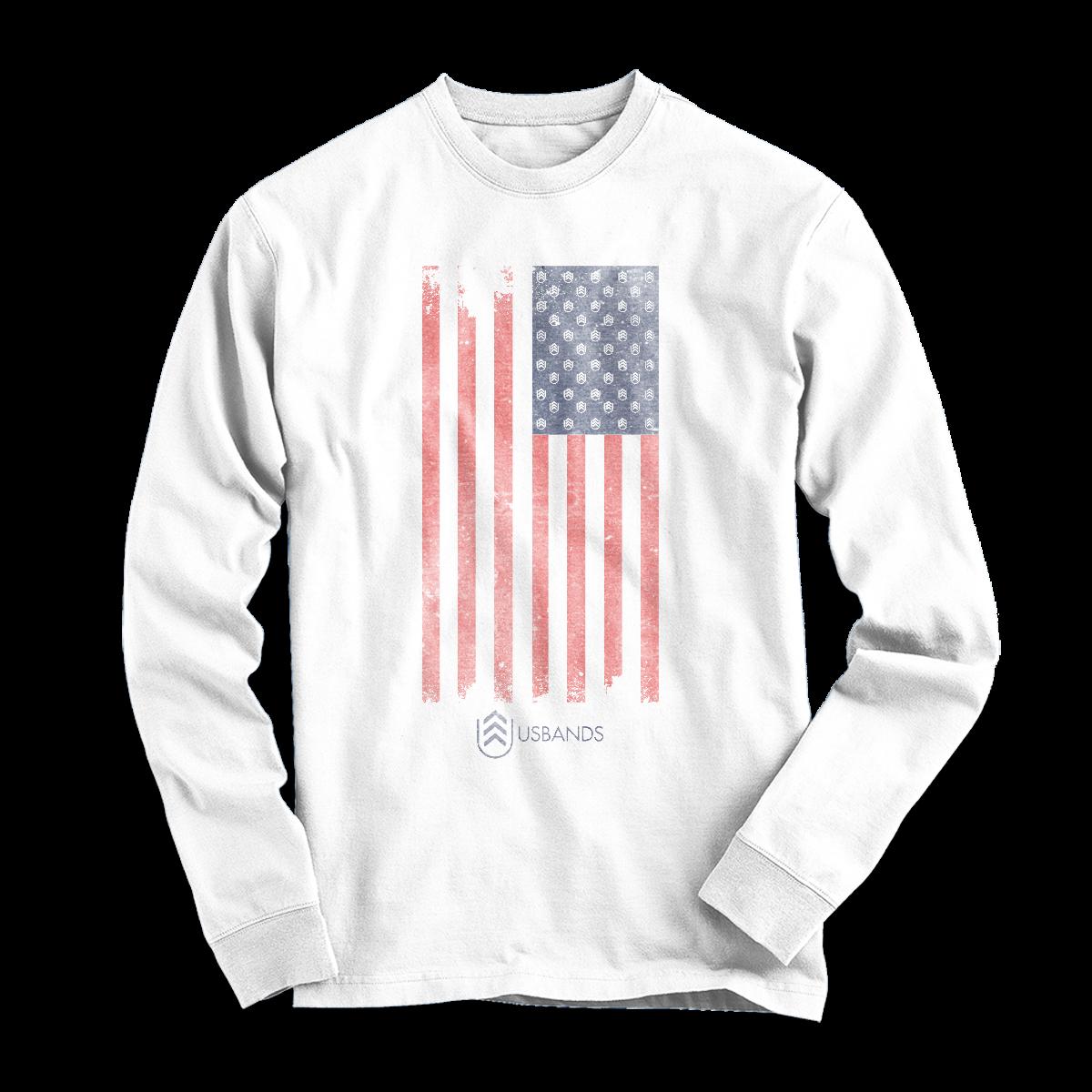 USBands Long Sleeve Flag Shirt