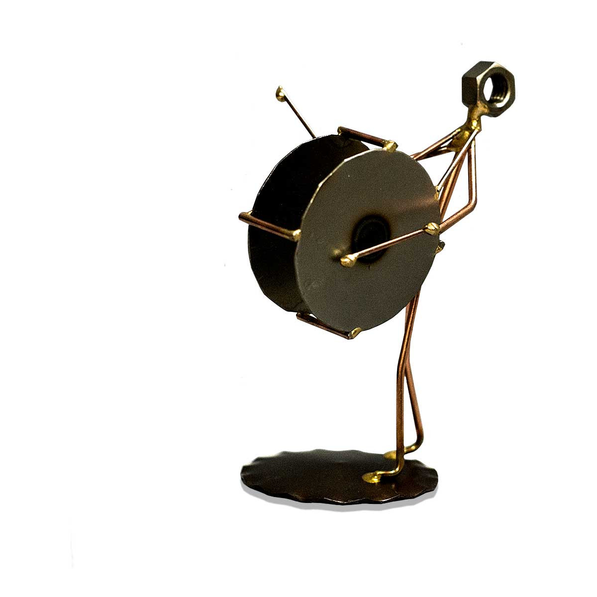 Bass Drum - Metal Figure