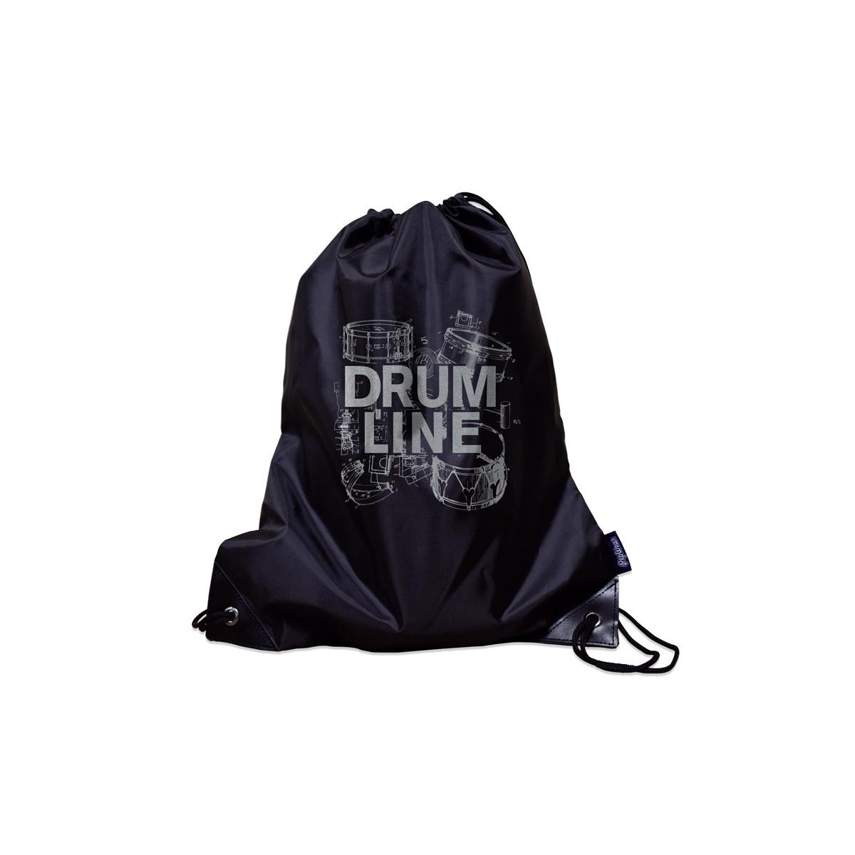 Drumline Poly Metallic Drawstring Bag