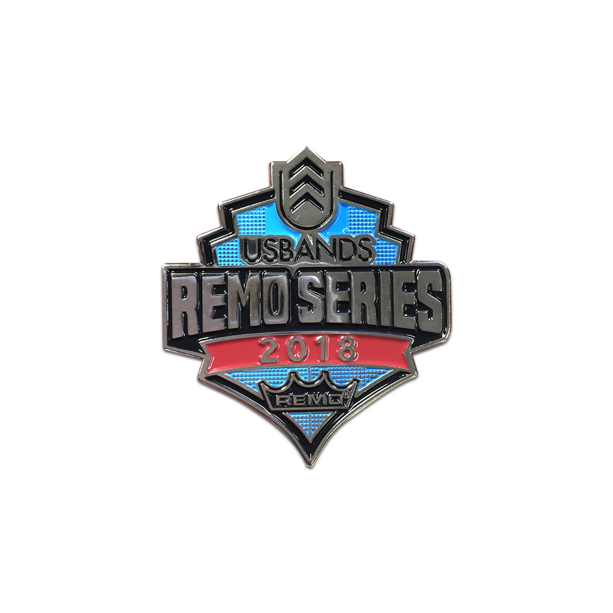2018 USBands REMO Series Event Pin