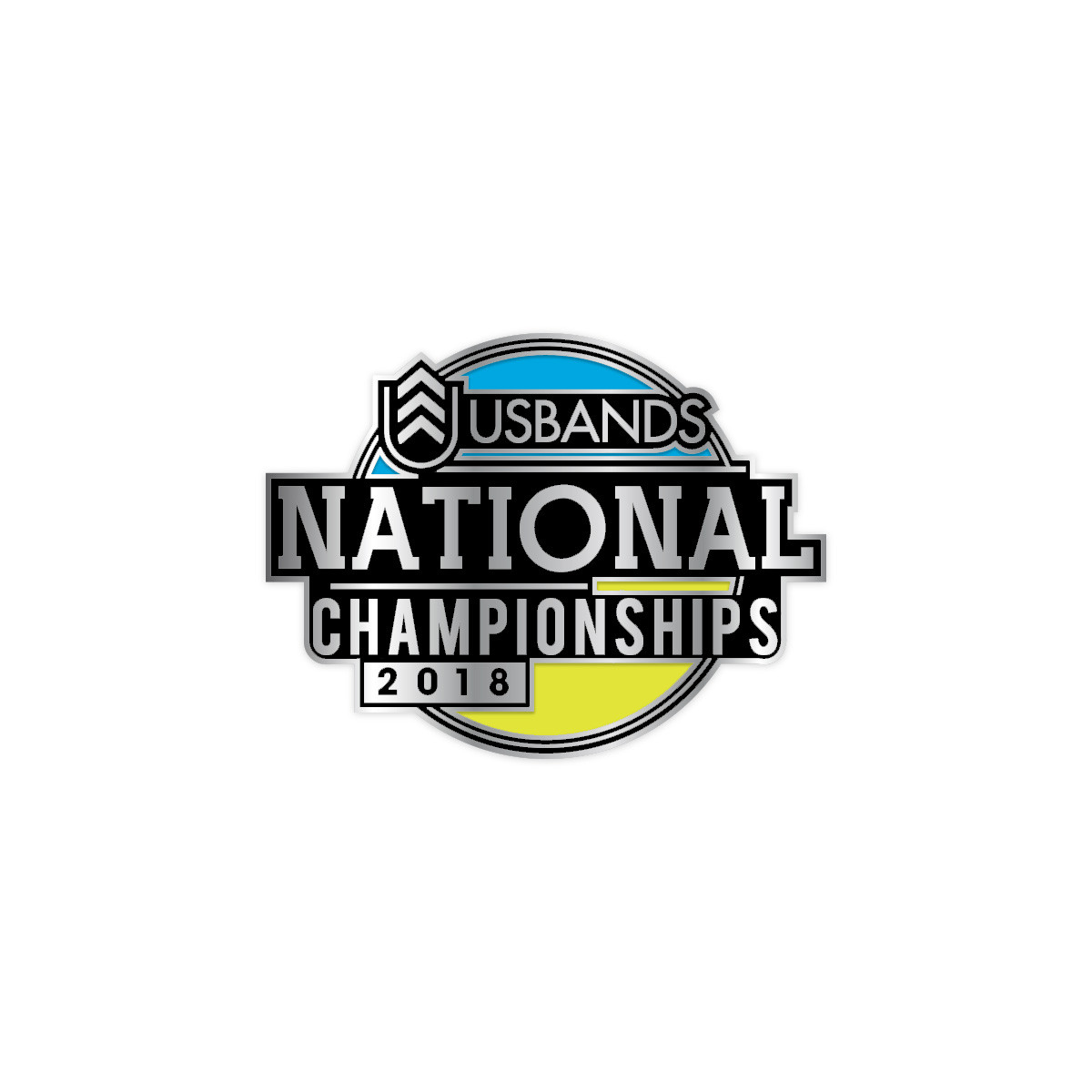 2018 USBands National Championships Pin