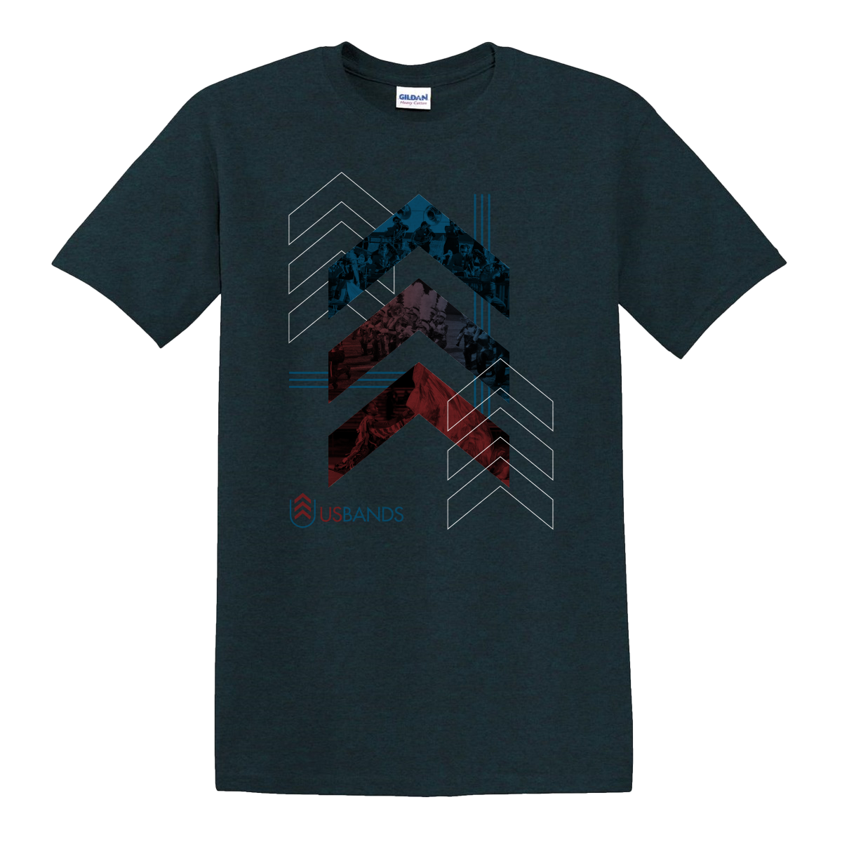 USBands Chevron T-Shirt