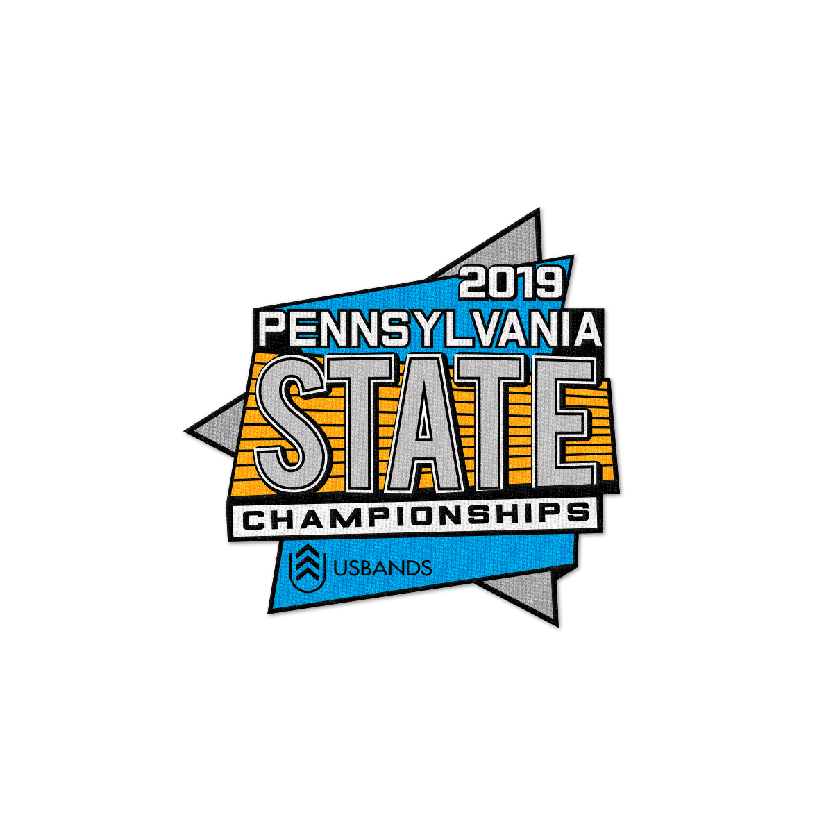 2019 USBands Pennsylvania State  Championship Patch