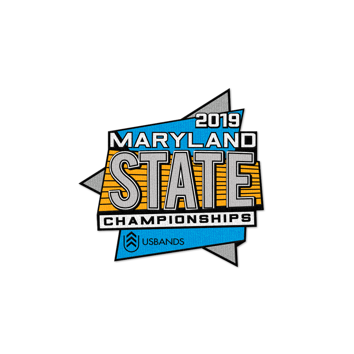 2019 USBands Maryland State Championships Patch