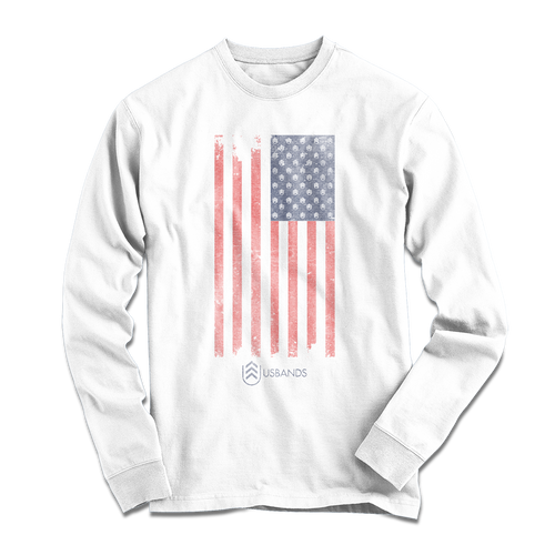 USBands Long Sleeve Flag Shirt