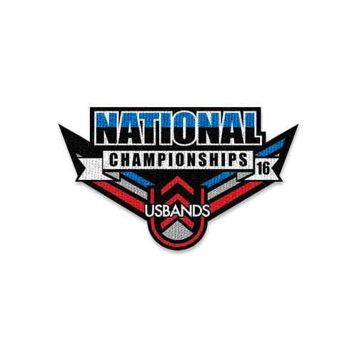 2016 USBands National Championships Patch