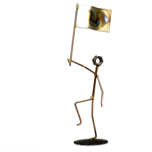 Flag - Metal Figure