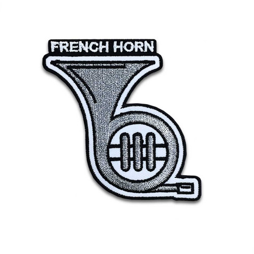 French Horn Instrument Patch